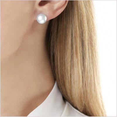 Yoko London Classic South Sea Pearl Stud Earring