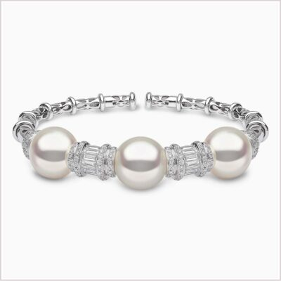 Yoko London Starlight Diamond and South Sea Pearl Bracelet