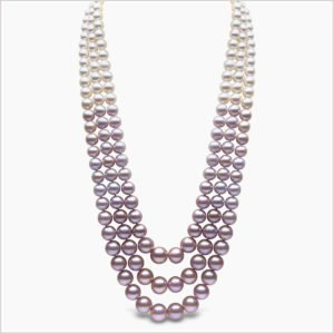 Yoko London Ombré Akoya and Freshwater Pearl Necklace