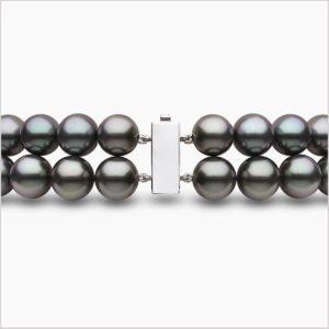 Yoko London Tassel Diamond, Freshwater Pearl, South Sea Pearl & Tahitian Pearl Necklace