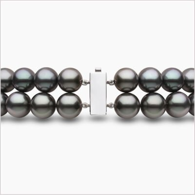 Yoko London Tassel Diamond, Freshwater Pearl, South Sea Pearl & Tahitian Pearl Necklace