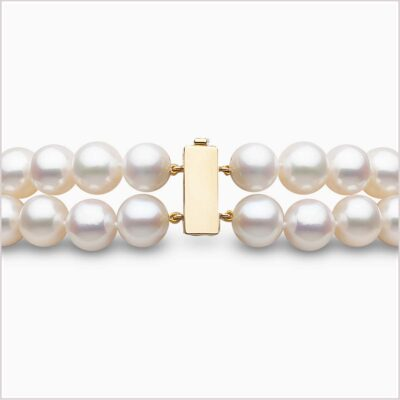 Yoko London Tassel Diamond and Freshwater Pearl Necklace