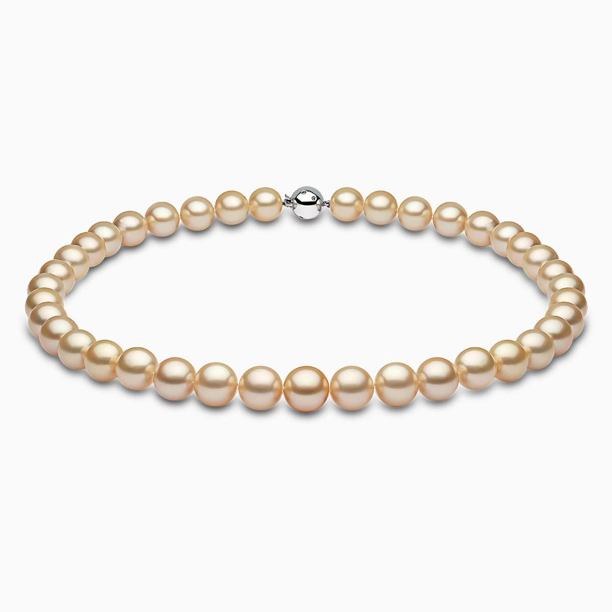 Yoko London Classic Golden South Sea Pearl Strand