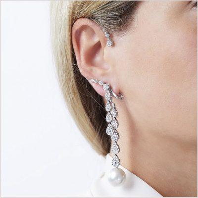 Yoko London Novus South Sea Pearl and Diamond Ear Cuff