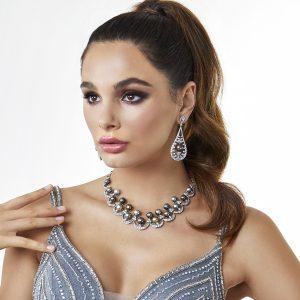 Yoko London Tropic Tahitian Pearl and Diamond Necklace