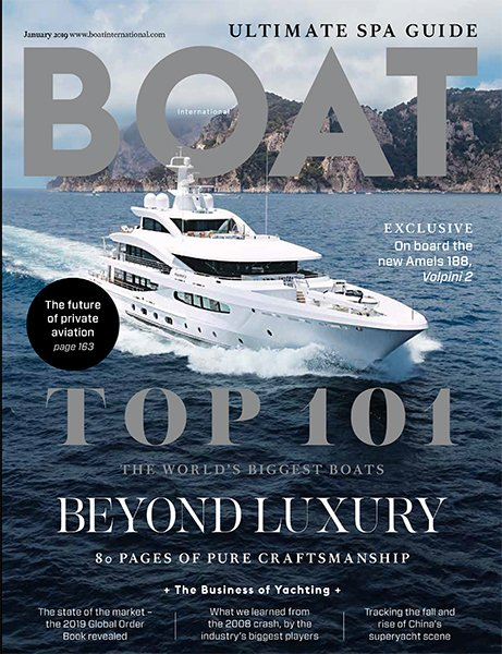 Boat International Front Cover