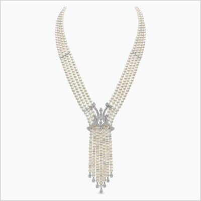 Yoko London Tassel Necklace - As Seen in Vogue
