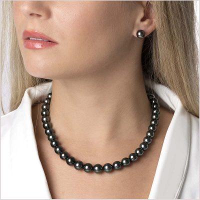 Yoko London Classic Tahitian Pearl Necklace