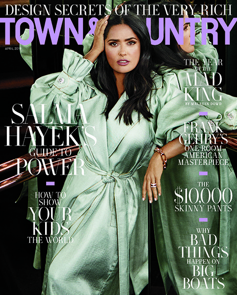 Town Country US April 2019 Cover