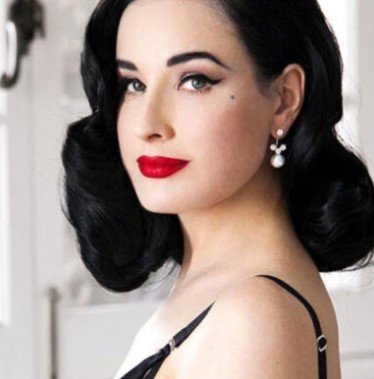 Dita Von Teese Wears Yoko London Pearls
