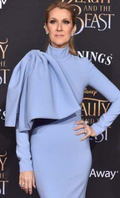 Celine Dion Wears Yoko London Pearls