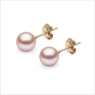 Yoko London Classic Pink Freshwater Pearl Studs
