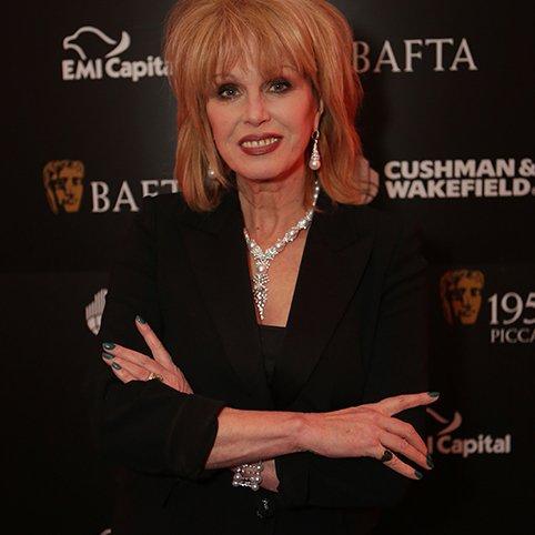 Joanna Lumley wears Yoko London Pearls