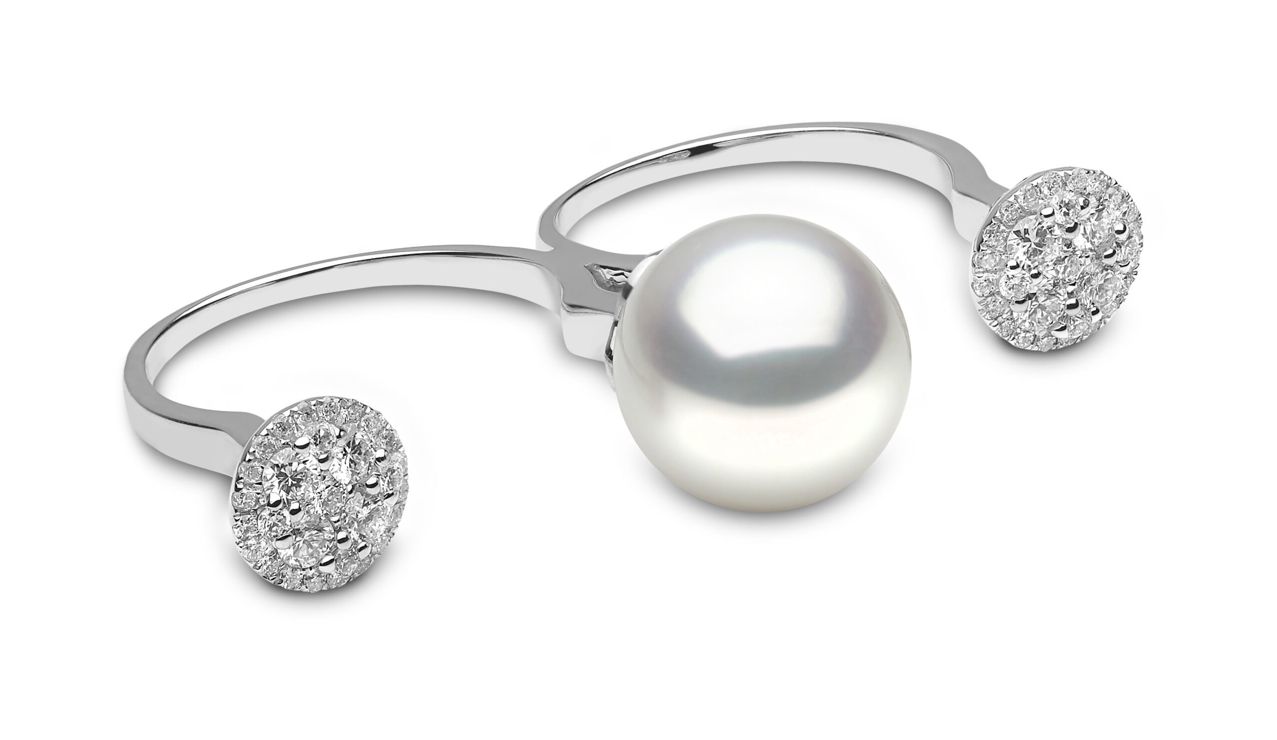 Yoko London Novus South Sea Pearl and Diamond Ring