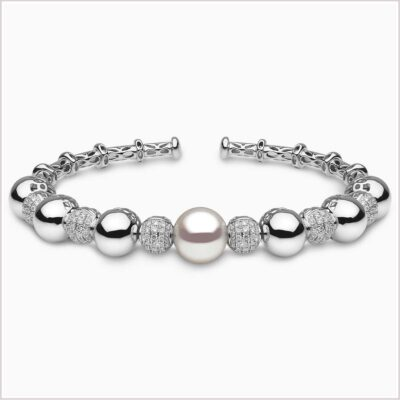 Mayfair South Sea Pearl and Diamond Bracelet