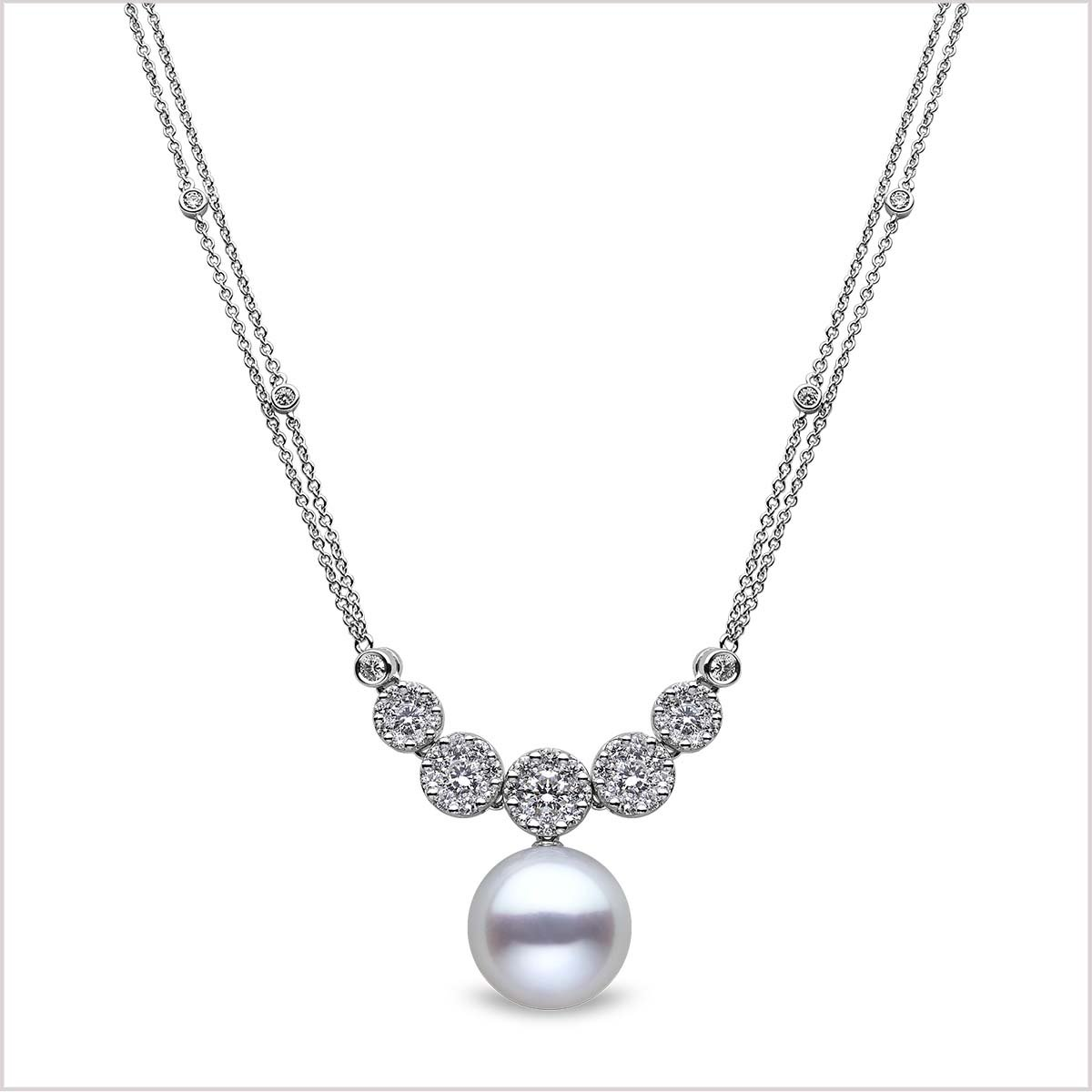 Yoko London Mayfair Diamond and South Sea Pearl Pendant