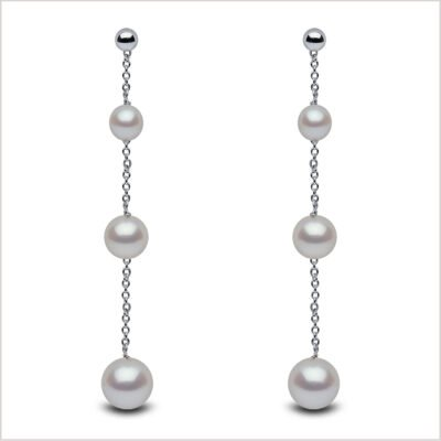 Yoko London Classic Freshwater Pearl Earrings