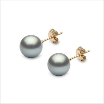 Yoko London Classic Tahitian Pearl Earrings