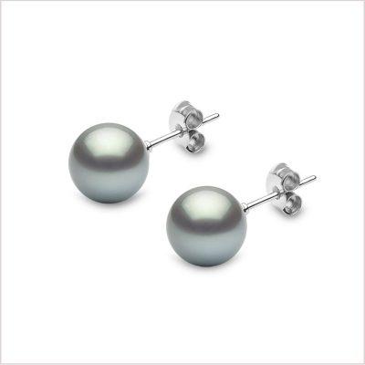 Yoko London Classic Tahitian Pearl Earrings