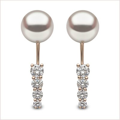 Yoko London Novus Diamond & Akoya Pearl Ear Jackets